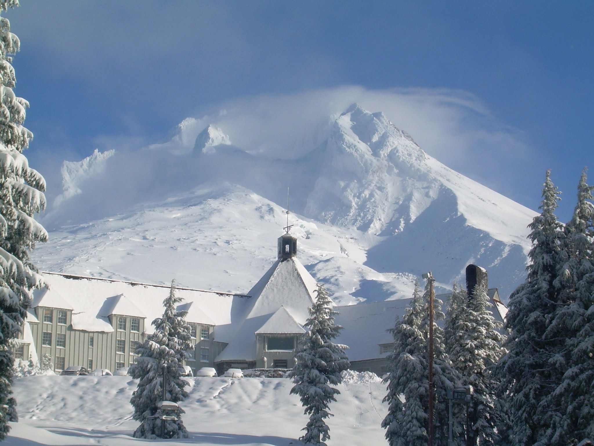 The Timberline Lodge, Mount Hood, Oregon (USA) – Film The Shining (1980)
