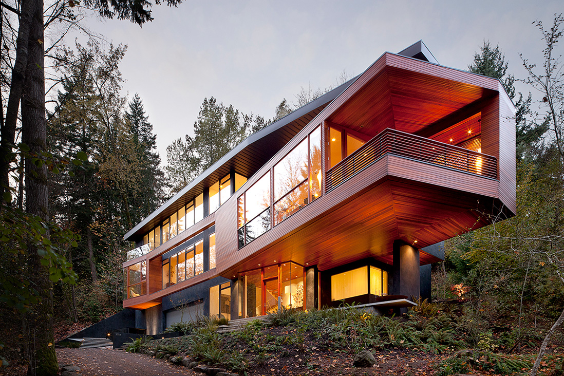 Hoke House, Portland Oregon (USA) – Skylab Architecture – Film Twilight (2008)