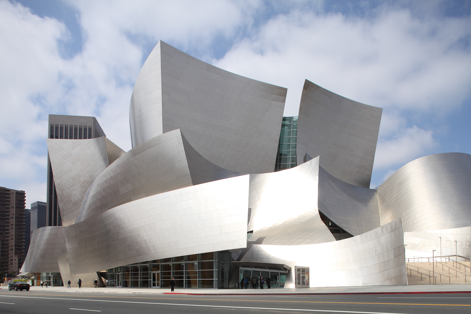 Disney Opera House, Los Angeles, California (USA) – architetto Frank Gejry – Film The Soloist (2009)